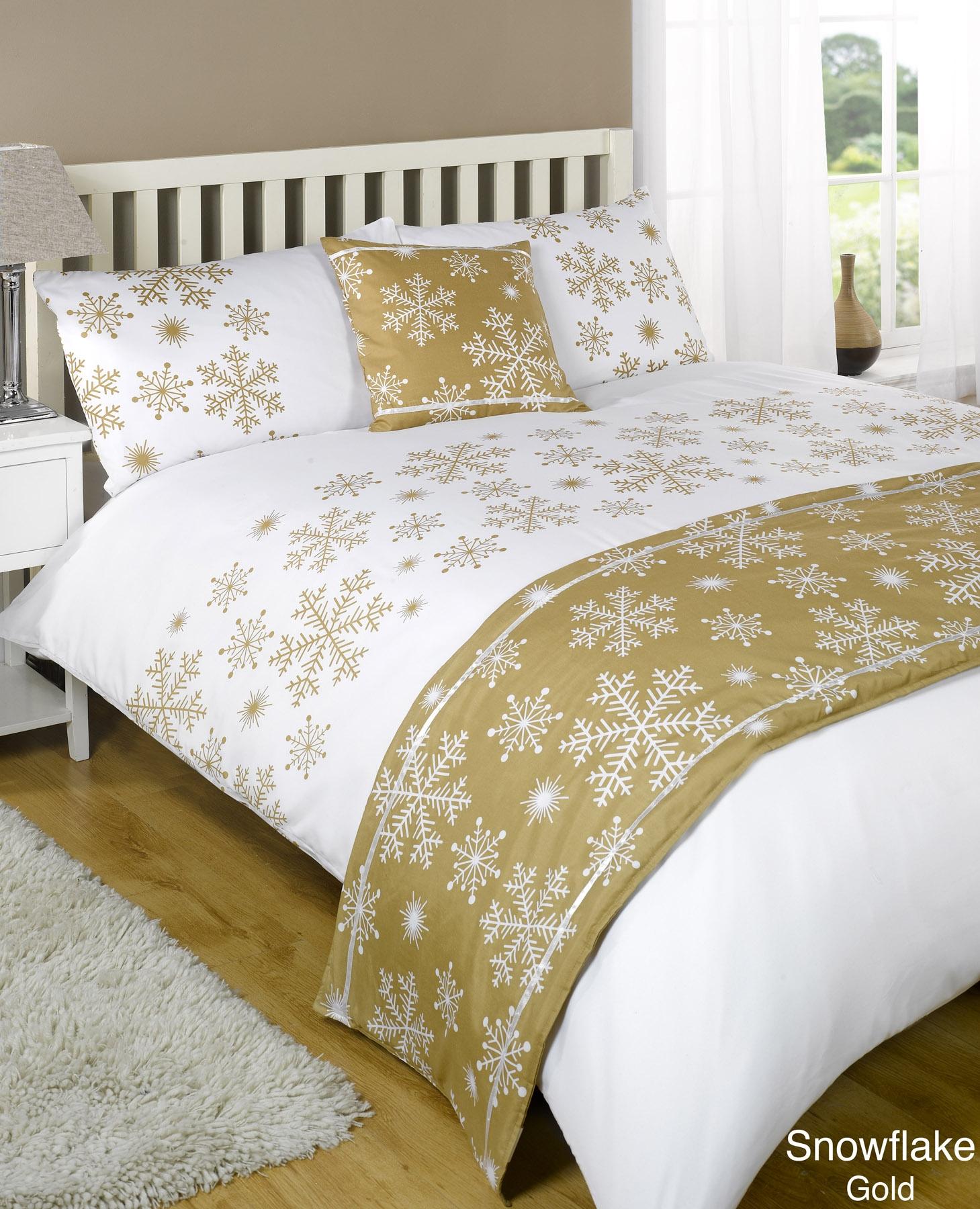 stepp bettdecke bettw sche bed in a bag gold einzelbett. Black Bedroom Furniture Sets. Home Design Ideas