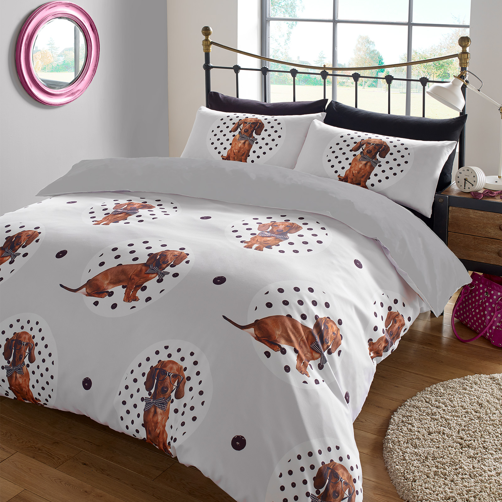 Animal Print Duvet Cover With Pilllowcase Bedding Set