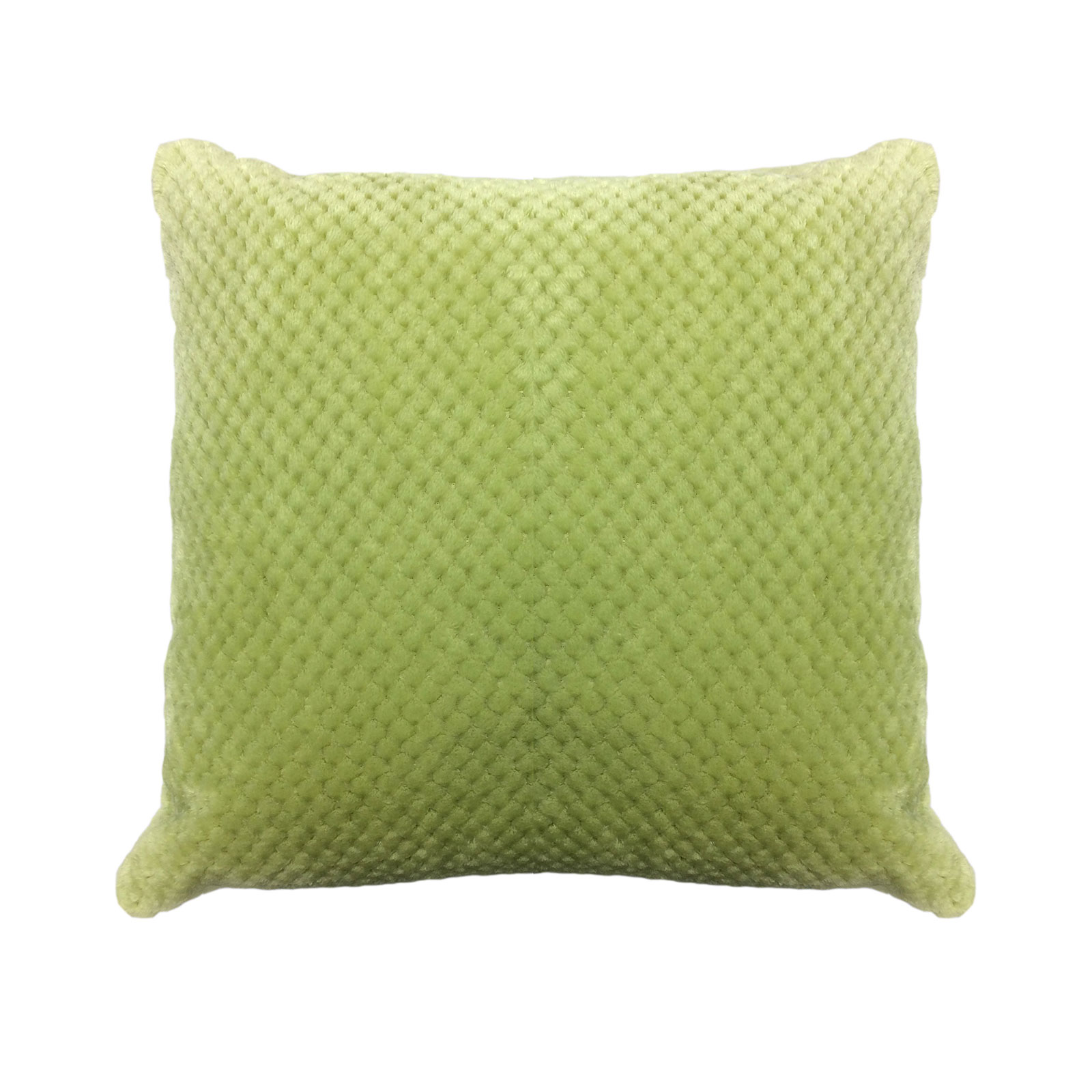 Plain Waffle Cushion Cover Pillow Case Sofa Home Decor
