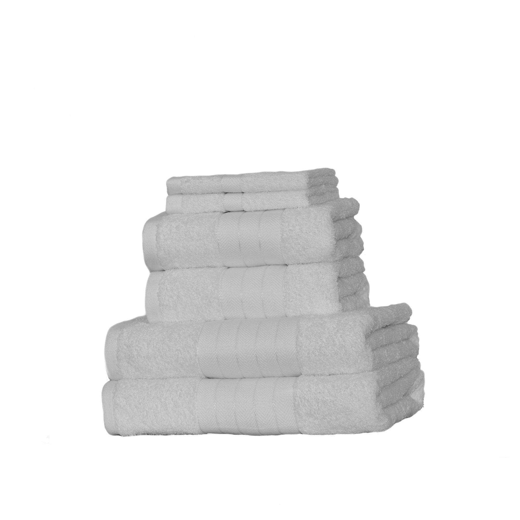 Dreamscene-Luxury-100-Cotton-Face-Hand-Bath-6-Piece-Bathroom-Towel-Bale-Set-NEW thumbnail 27
