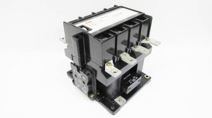 ABB EH-250 Contactor 300 Amp 600V 2-Poles 1-Phase 24V-DC Coil 300A ...