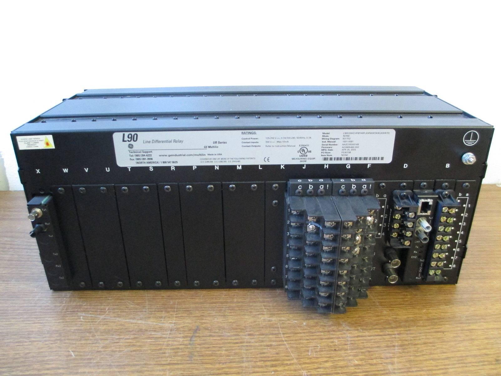 ge multilin l90 line differential relay rh rivercityindustrial com