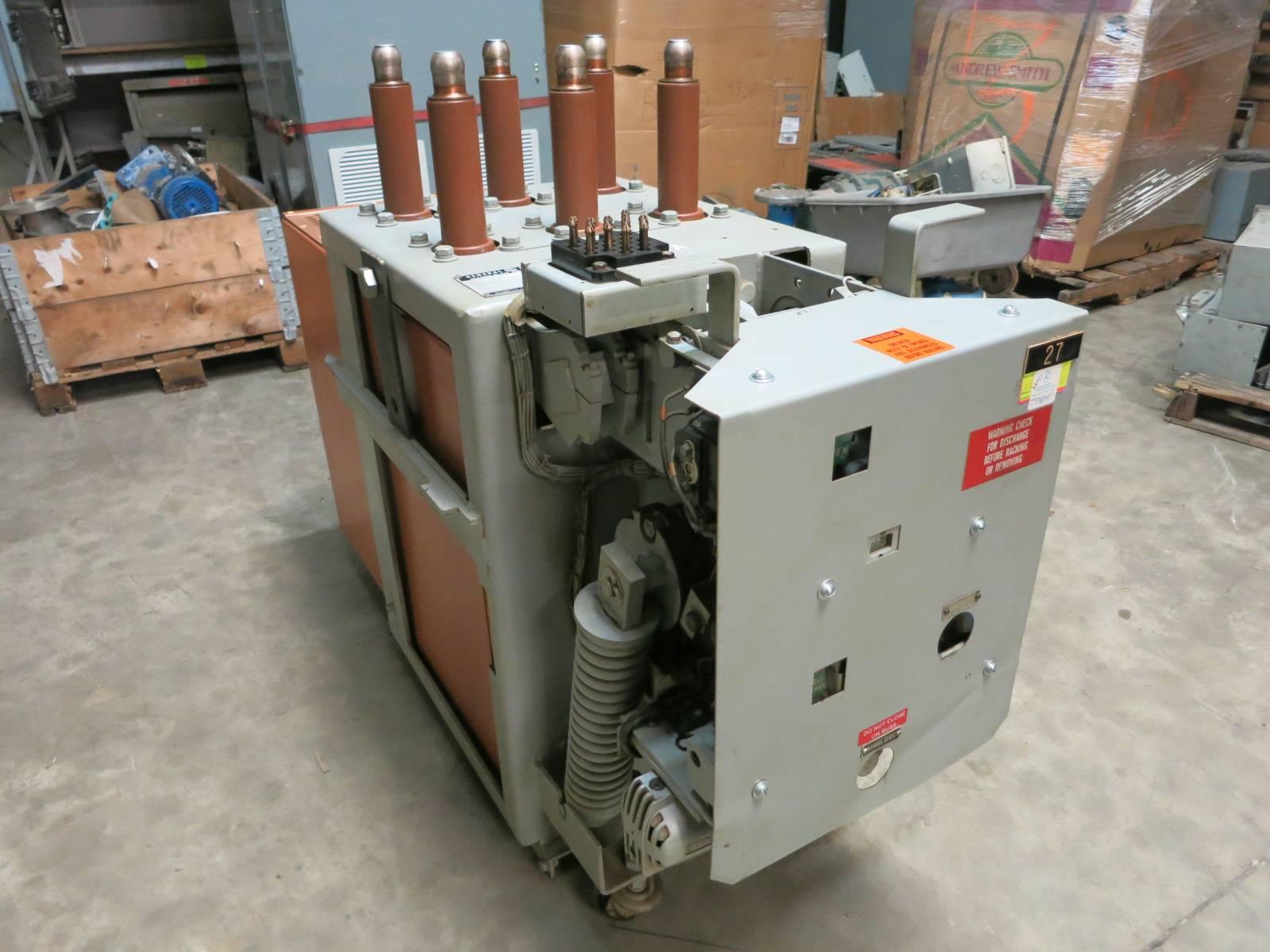 vacuum retrofit ge magne blast am 13 8 750 5h 1200a vvc breaker  vacuum retrofit ge magne blast am 13 8 750 5h 1200a vvc breaker general electric (pm2909 1) river city industrial