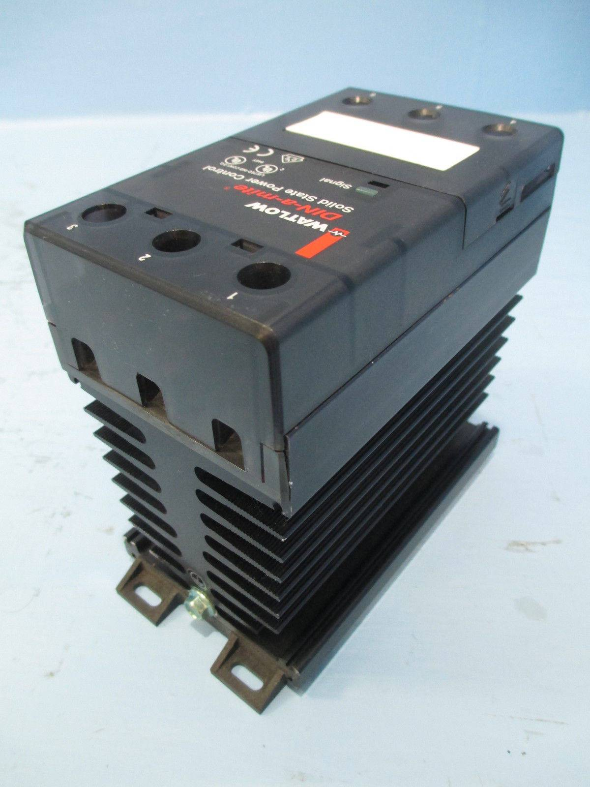 New Watlow Dc20 24k2 0000 Din A Mite Solid State Power Control Nib Relay 40a 240v Tk1545 1 River City Industrial