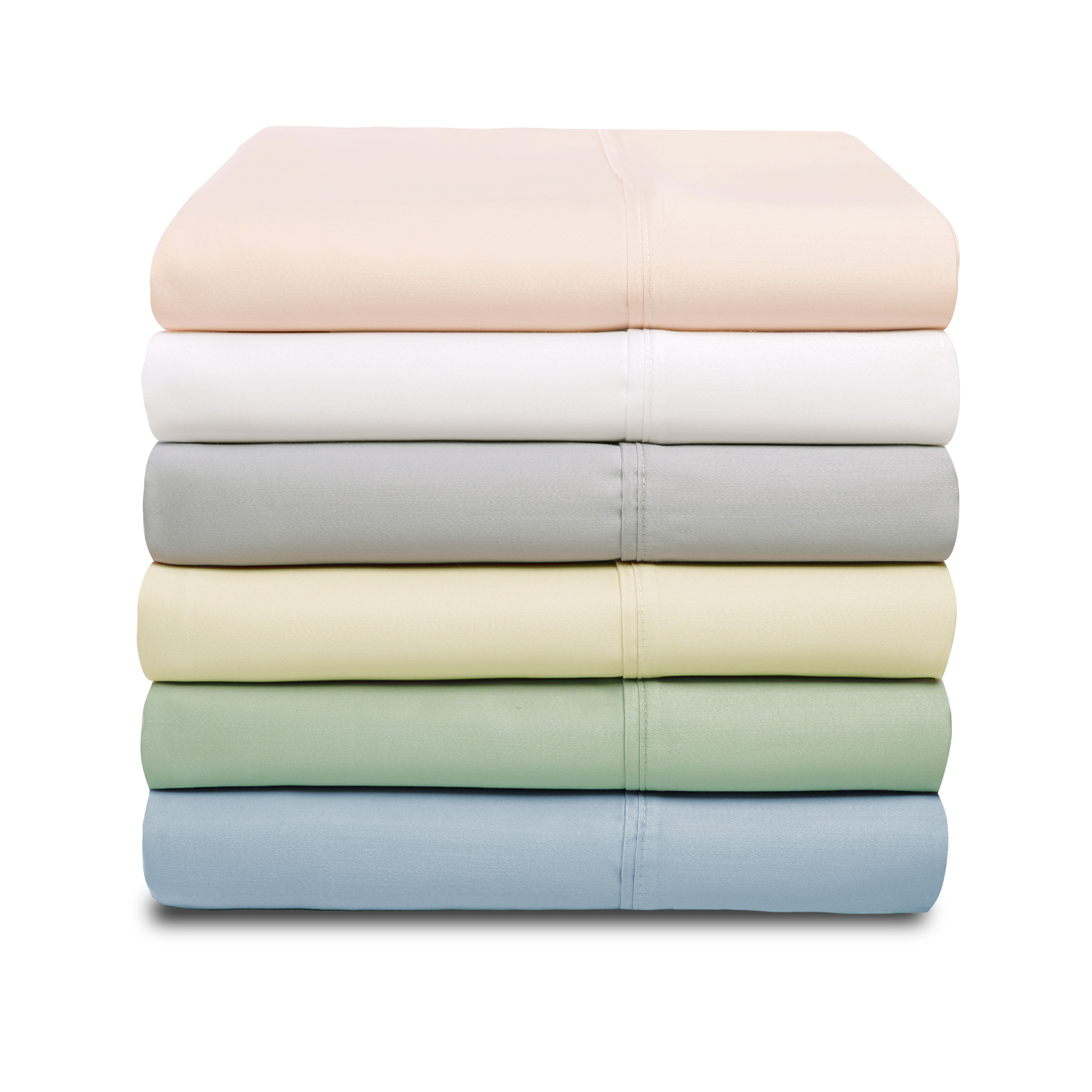 1000-Thread-Count-Tencel-Polyester-Ultra-Soft-Pillowcase-Set-6-Colors thumbnail 3