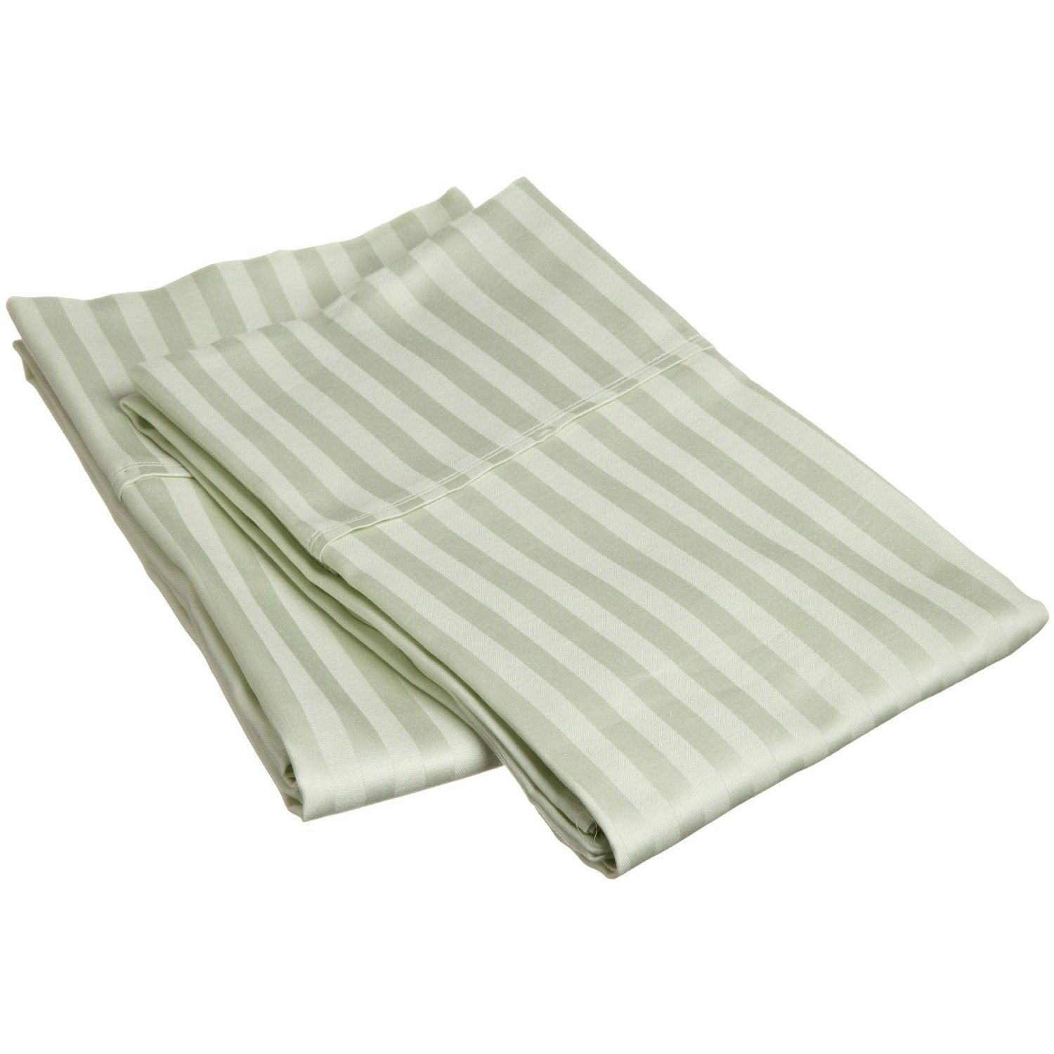 Highest Rated Bed Sheets Striped 300 Thread Count Pillowcases Premium Long Staple