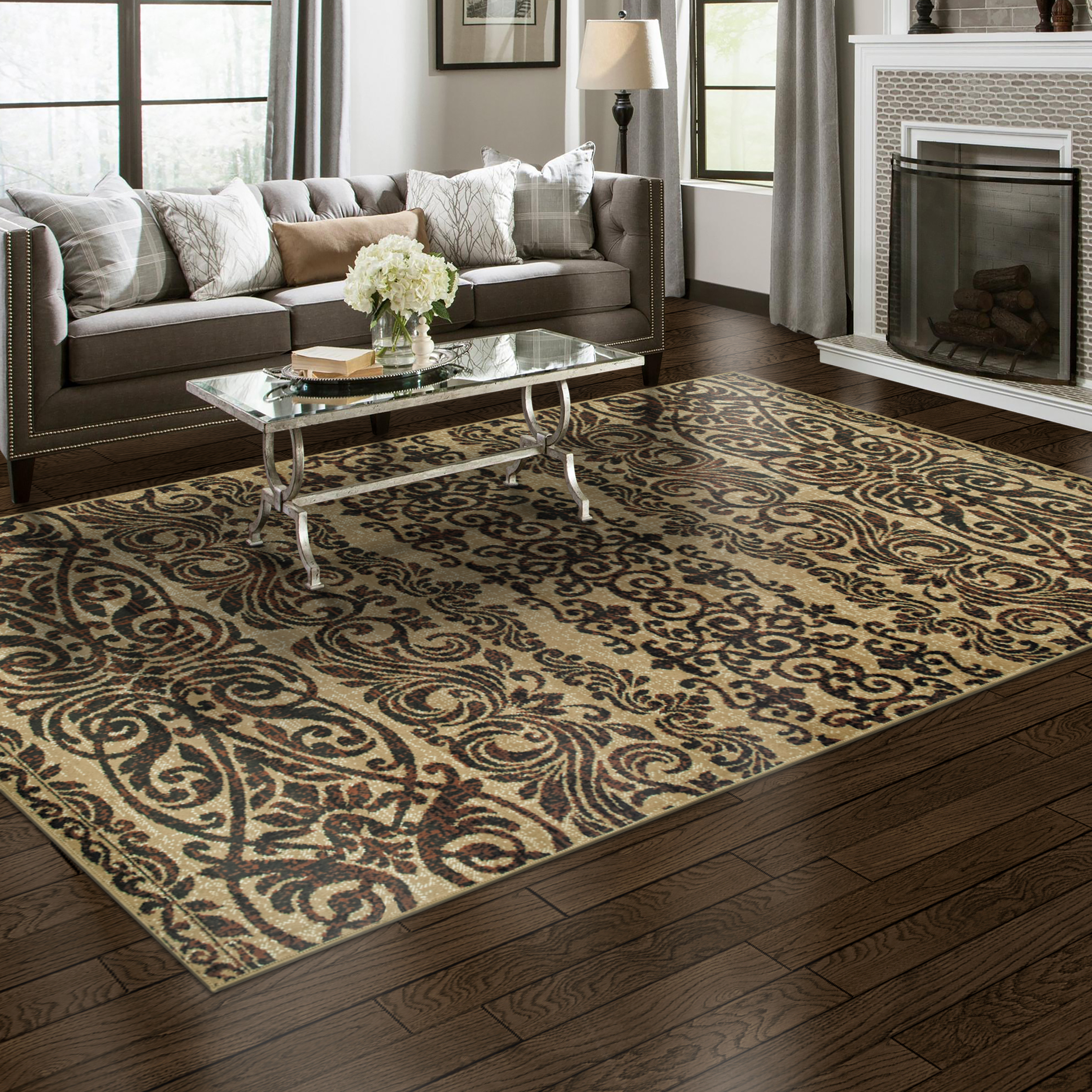 Sheffield-Floral-Area-Rug-Collection thumbnail 3