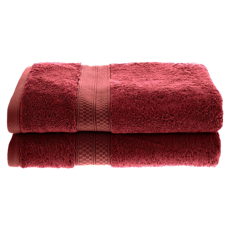 Quick Dry Bamboo Bath 2 Piece Towel Set Ebay