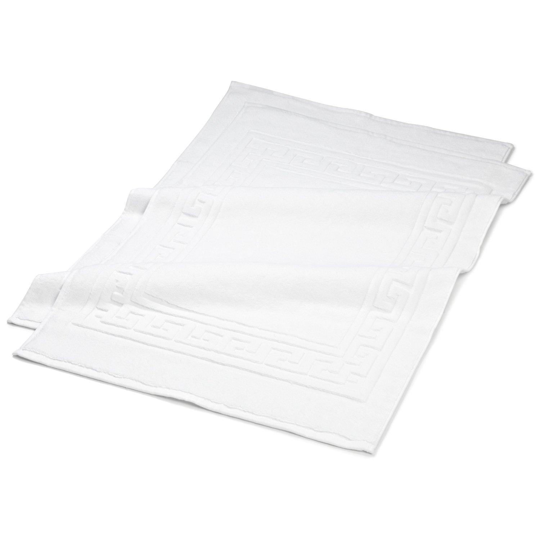 Premium Long Staple Cotton Bath Mat Set 22x35 900 Gram