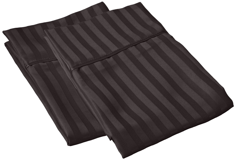 Superior 1500 Series Microfiber Stripe Pillow Cases (Pair
