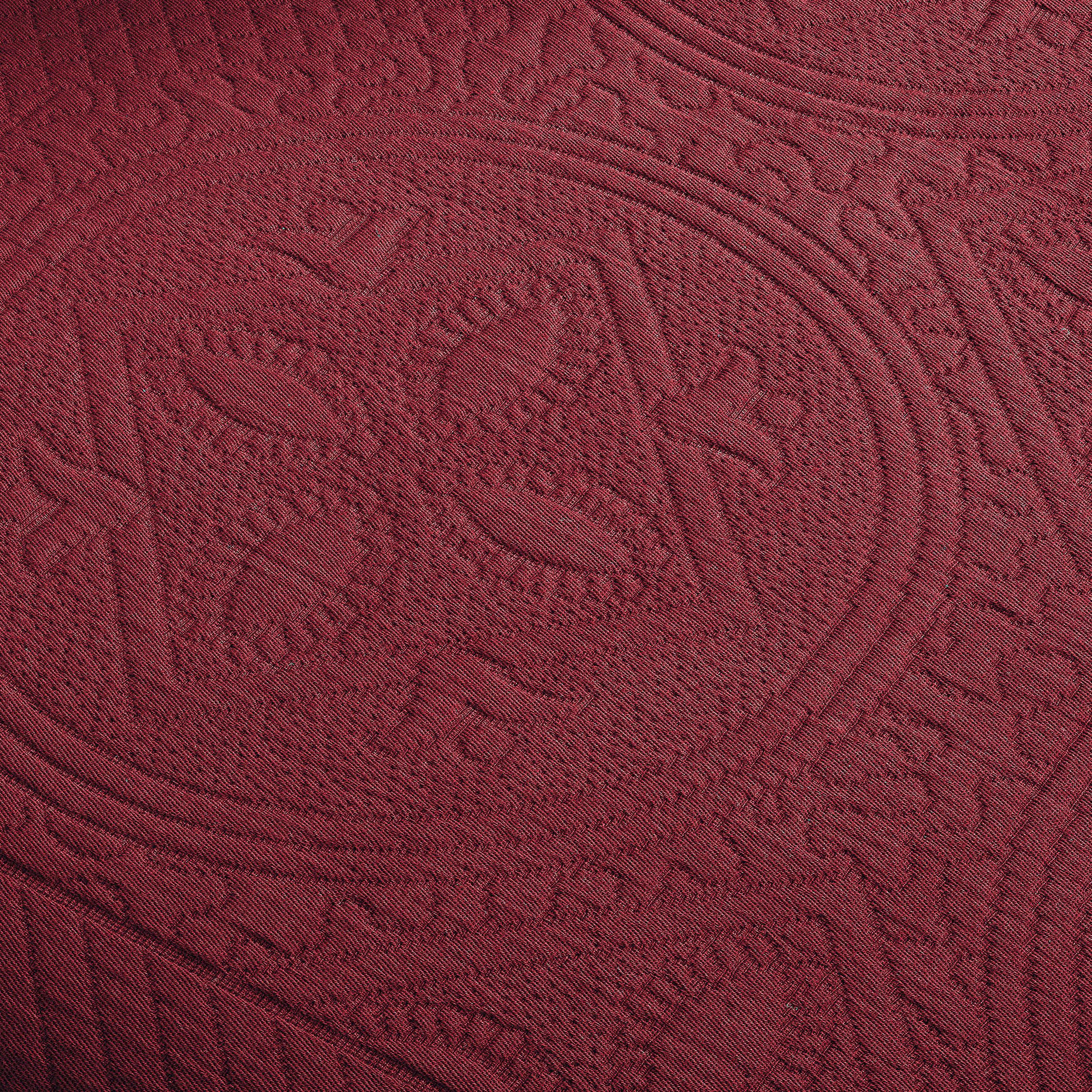 Celtic-Circle-Cotton-Jacquard-Matelasse-Scalloped-Bedspread-Set thumbnail 8