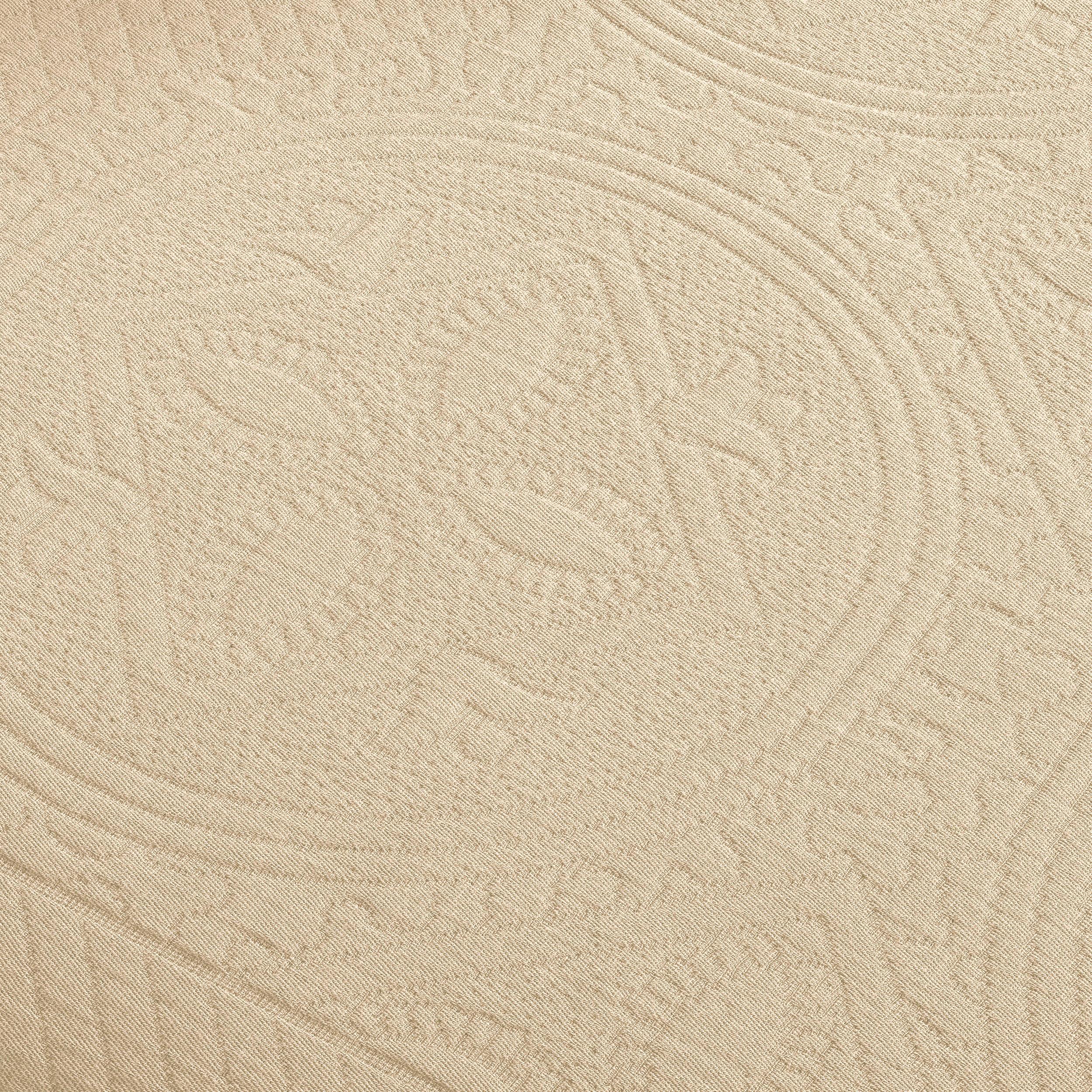 Celtic-Circle-Cotton-Jacquard-Matelasse-Scalloped-Bedspread-Set thumbnail 17