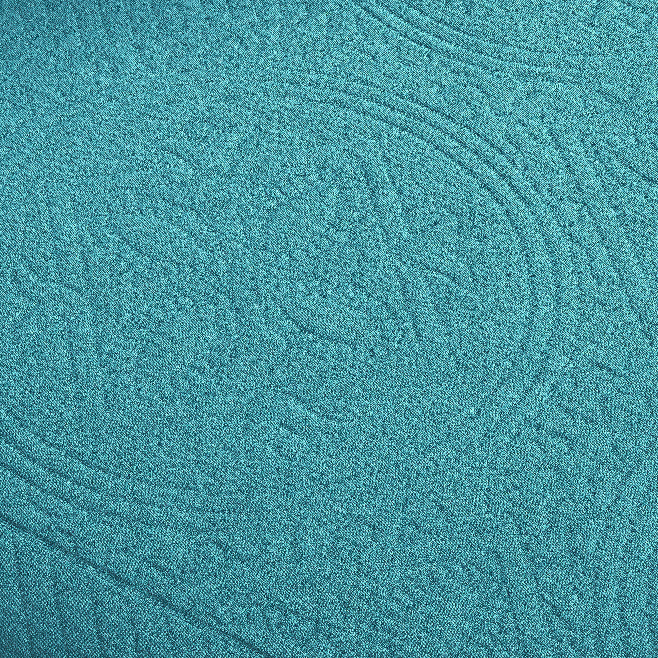 Celtic-Circle-Cotton-Jacquard-Matelasse-Scalloped-Bedspread-Set thumbnail 20
