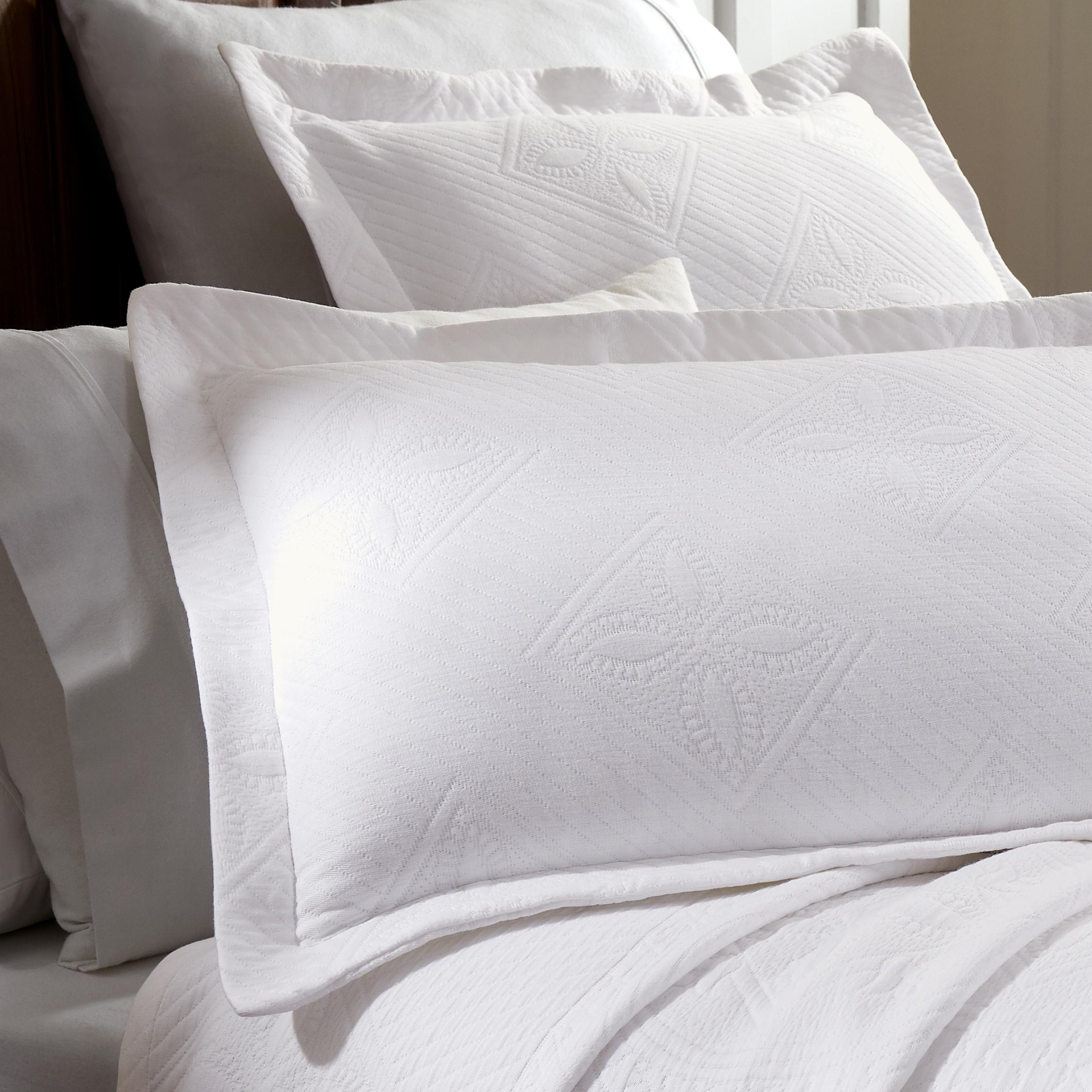 Celtic-Circle-Cotton-Jacquard-Matelasse-Scalloped-Bedspread-Set thumbnail 32