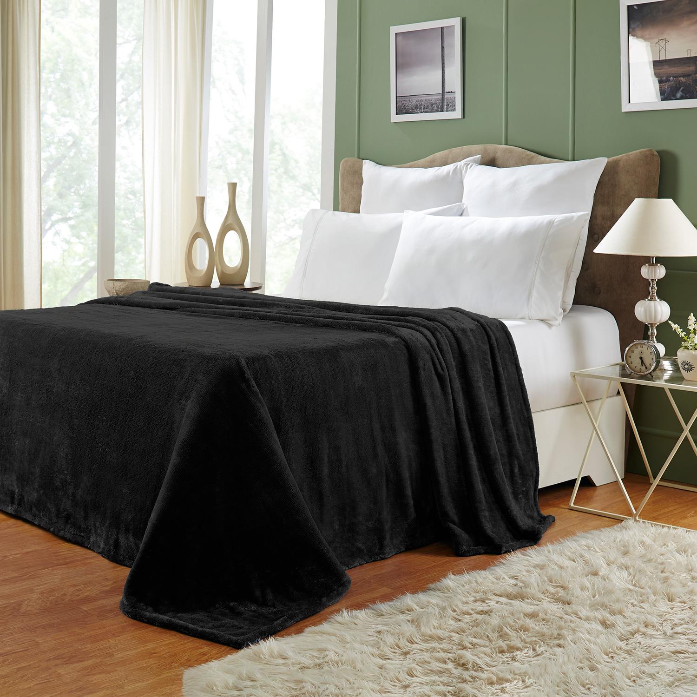 Ultra-Soft-Luxury-Fleece-Blankets-Lightweight-Super-Soft-Cozy-Warm-blanket thumbnail 3