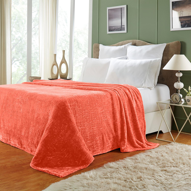 Ultra-Soft-Luxury-Fleece-Blankets-Lightweight-Super-Soft-Cozy-Warm-blanket thumbnail 19