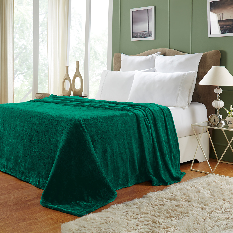 Ultra-Soft-Luxury-Fleece-Blankets-Lightweight-Super-Soft-Cozy-Warm-blanket thumbnail 23