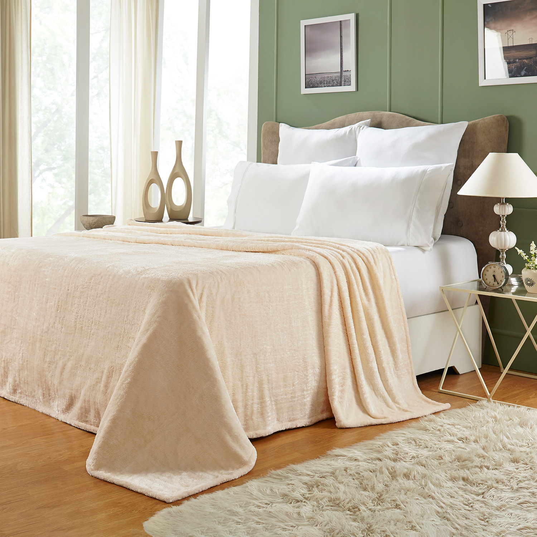 Ultra-Soft-Luxury-Fleece-Blankets-Lightweight-Super-Soft-Cozy-Warm-blanket thumbnail 27