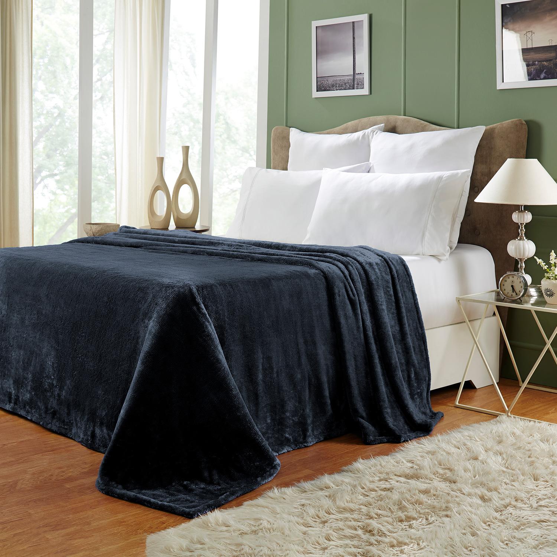 Ultra-Soft-Luxury-Fleece-Blankets-Lightweight-Super-Soft-Cozy-Warm-blanket thumbnail 31