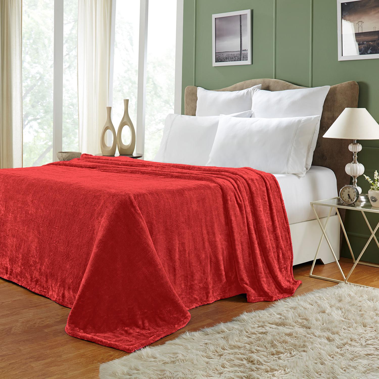 Ultra-Soft-Luxury-Fleece-Blankets-Lightweight-Super-Soft-Cozy-Warm-blanket thumbnail 35