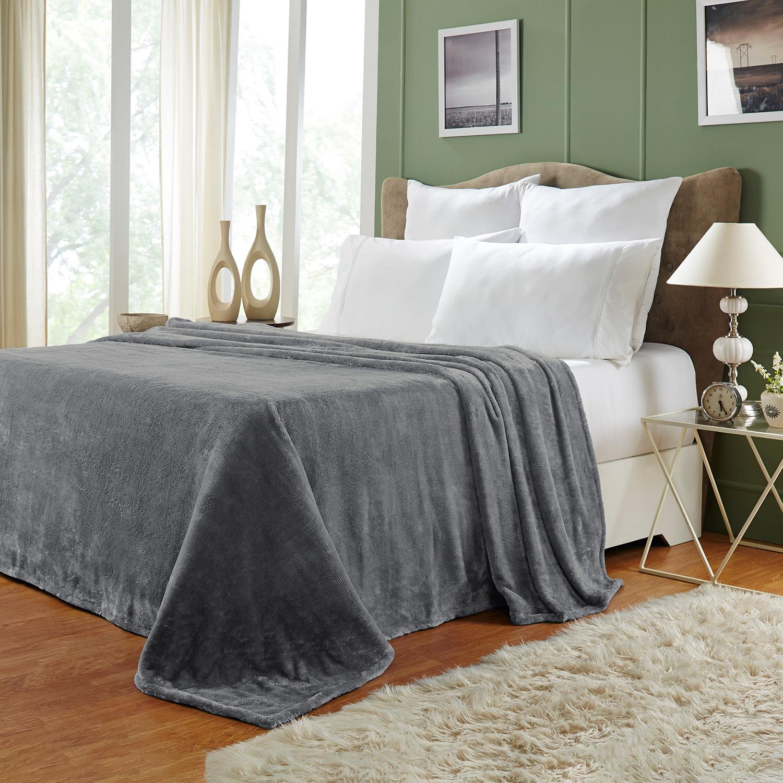 Ultra-Soft-Luxury-Fleece-Blankets-Lightweight-Super-Soft-Cozy-Warm-blanket thumbnail 39