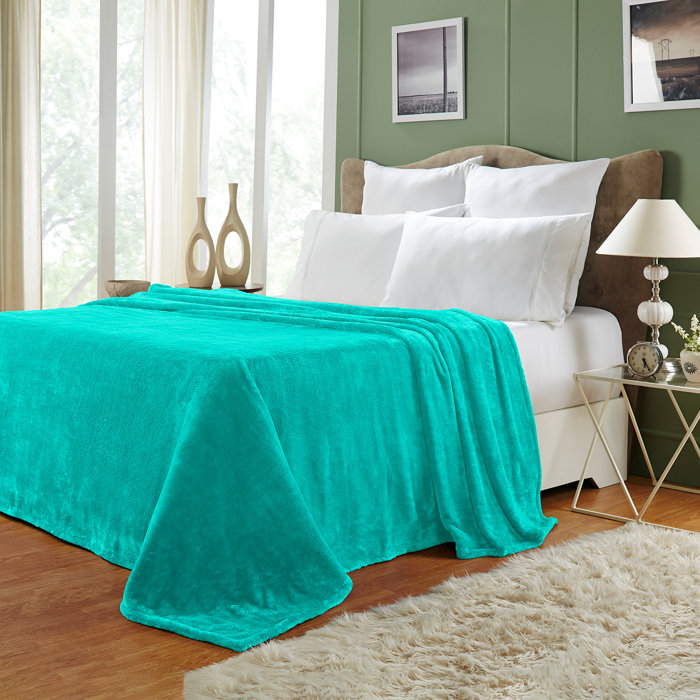 Ultra-Soft-Luxury-Fleece-Blankets-Lightweight-Super-Soft-Cozy-Warm-blanket thumbnail 43