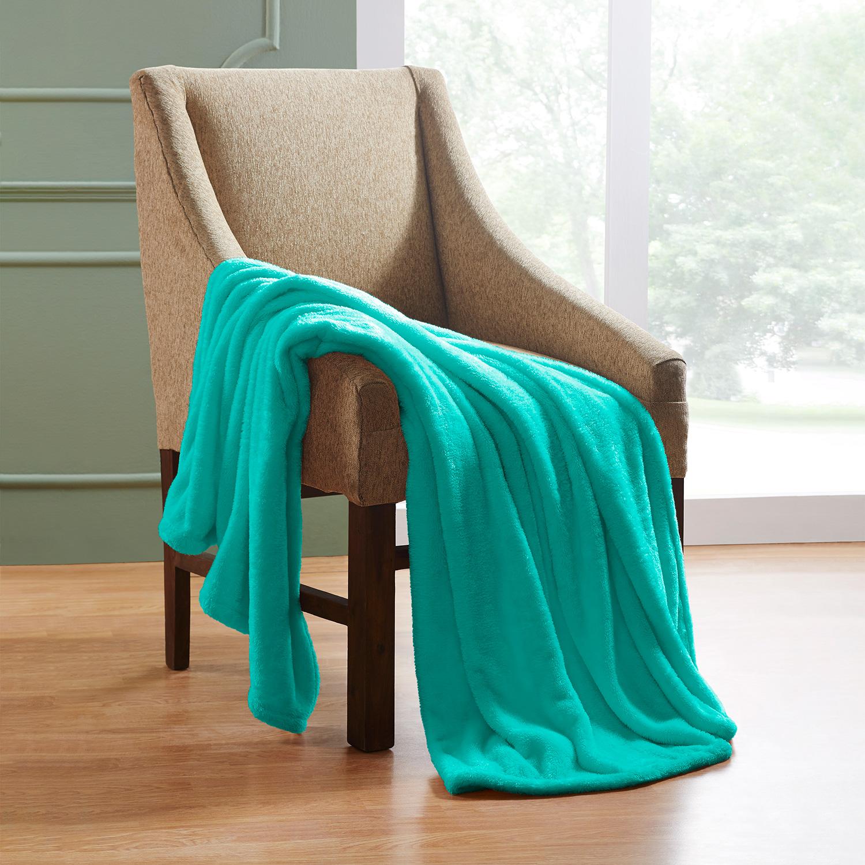 Ultra-Soft-Luxury-Fleece-Blankets-Lightweight-Super-Soft-Cozy-Warm-blanket thumbnail 44