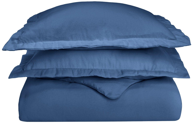 Superior Cotton Flannel Solid Duvet Cover Set Ebay