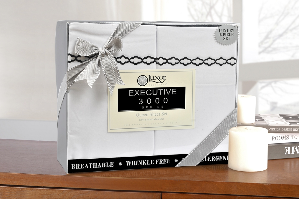 6-Piece-Sheet-Set-With-Clouds-Embroidery-Duvets-Covers-OR-Pillowcases-GIFT-BOX thumbnail 14