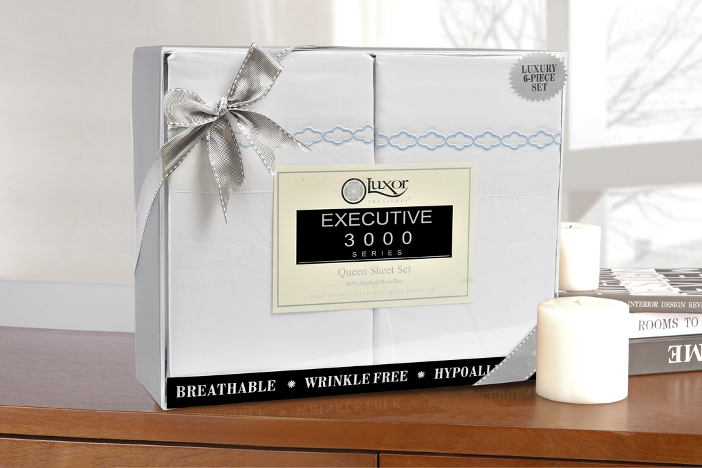 6-Piece-Sheet-Set-With-Clouds-Embroidery-Duvets-Covers-OR-Pillowcases-GIFT-BOX thumbnail 16