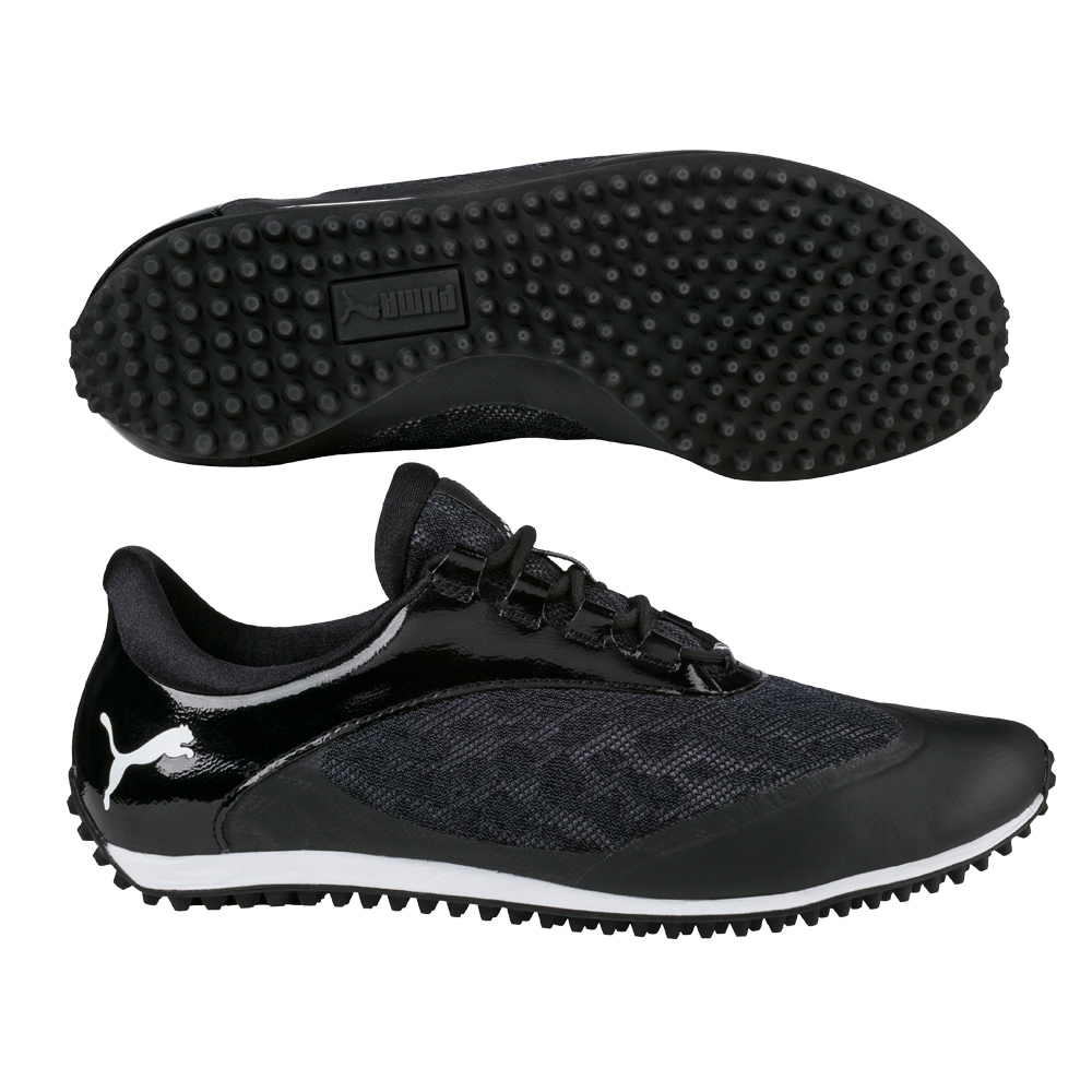 PUMA WOMENS SUMMERCAT SPORT GOLF SHOES -19058603- BLACK ...