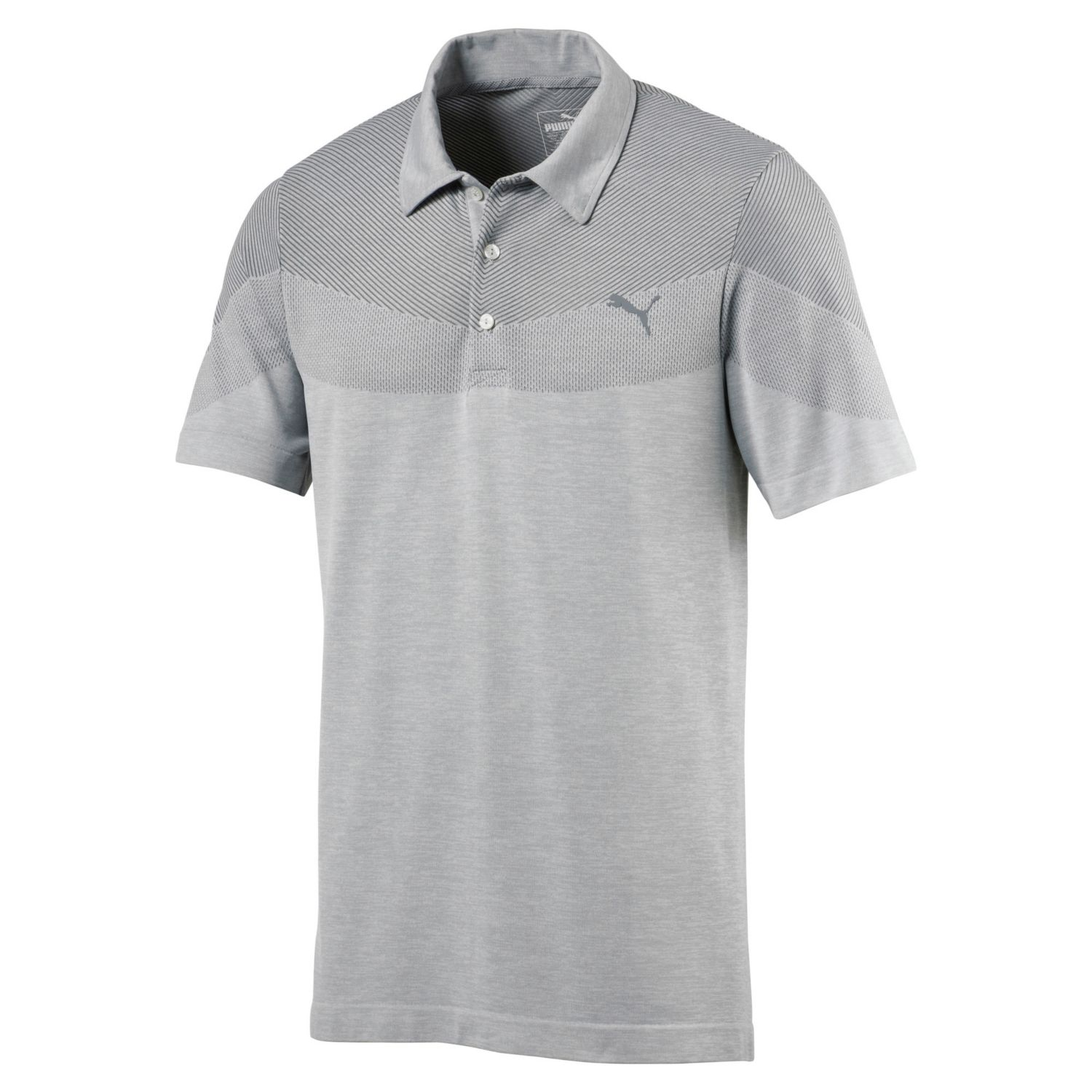 PUMA EVOKNIT SEAMLESS POLO MENS GOLF SHIRT 573283 -NEW 2018- PICK SIZE &  COLOR; Picture 2 of 3; Picture 3 of 3