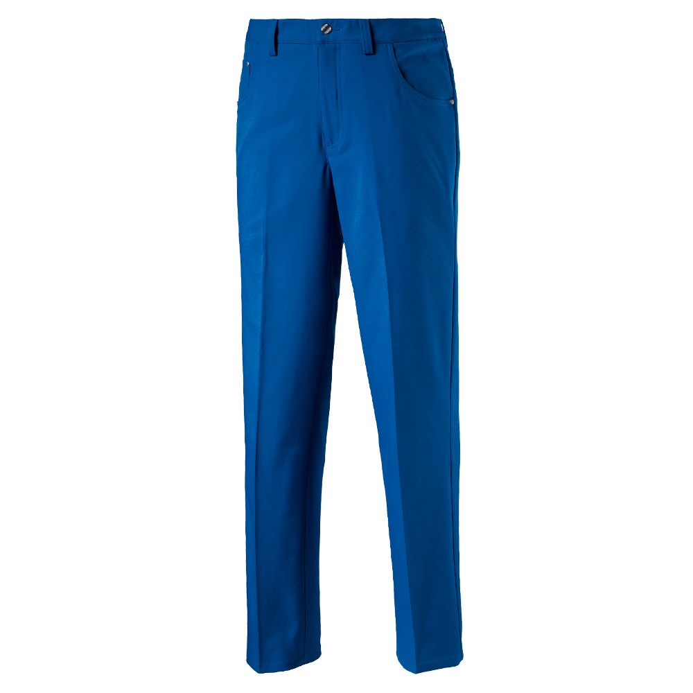 puma blue golf pants