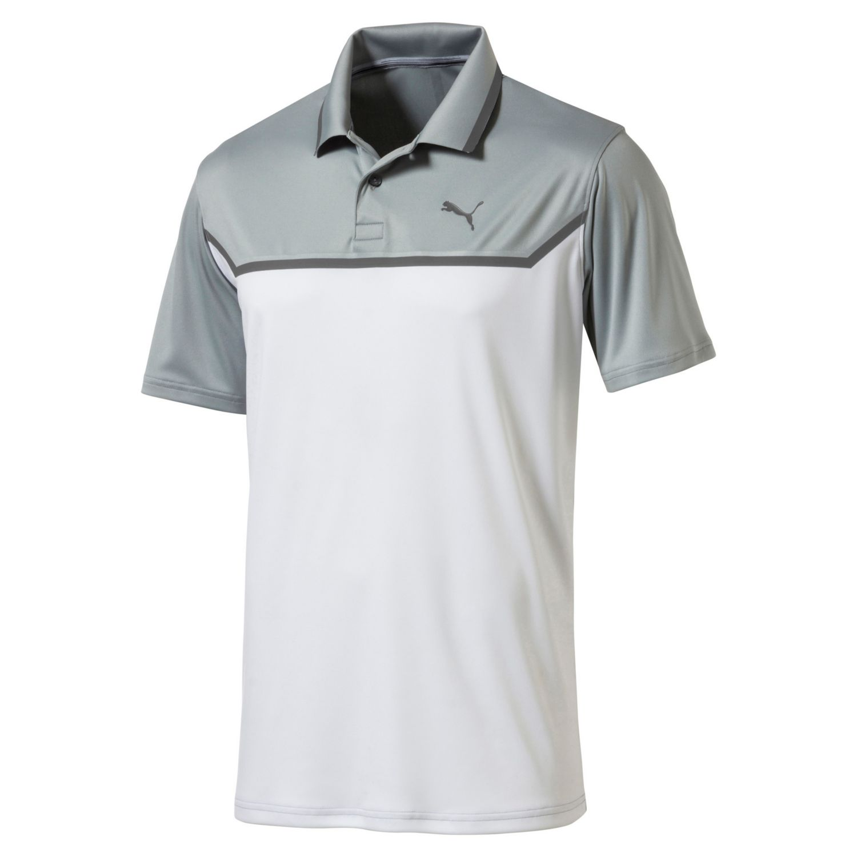 puma bonded tech polo mens golf shirt 574552 new 2018 pick size color ebay. Black Bedroom Furniture Sets. Home Design Ideas