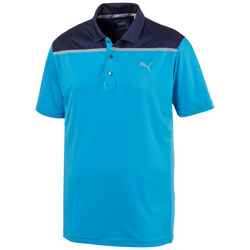 Puma Bonded Colorblock Mens Polo thumbnail