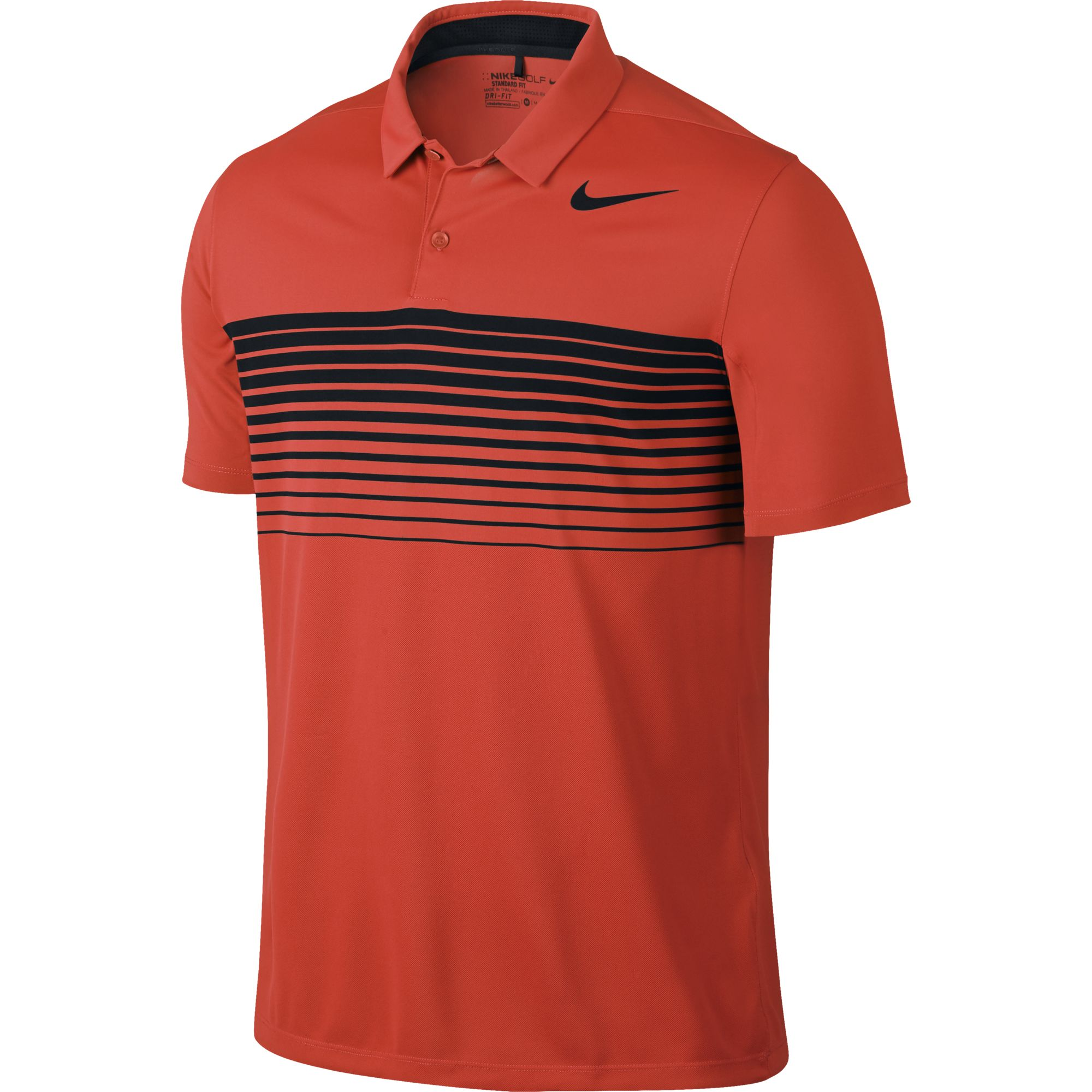2017 Nike Mobility Speed Stripe Polo Golf Shirt Mens ...