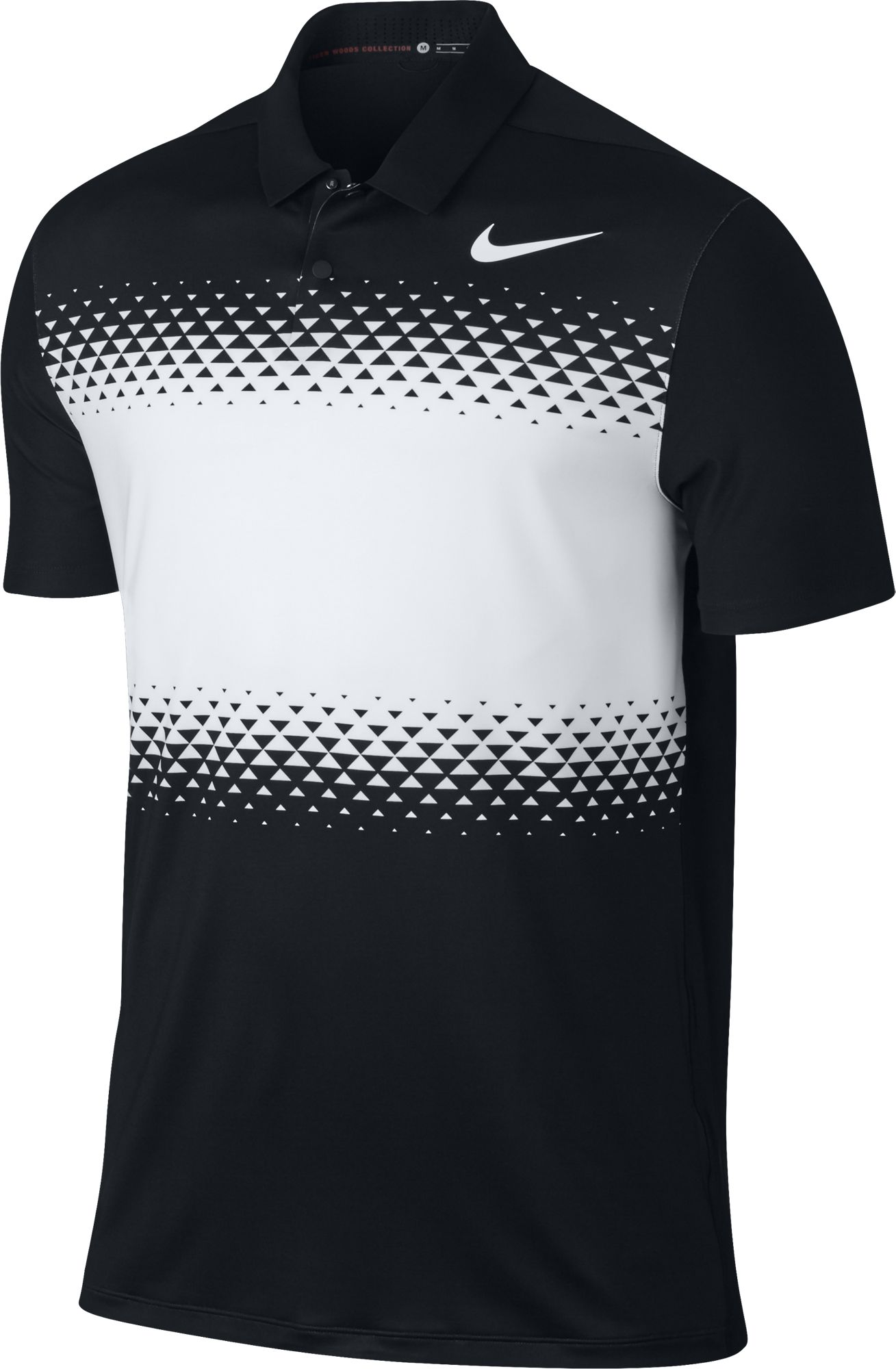 2017 Nike TW Mobility Majors Polo Golf Shirt Mens 833165 ...