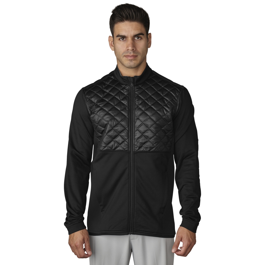 Adidas Climaheat Prime Quilted Full Zip Mens Golf Jacket
