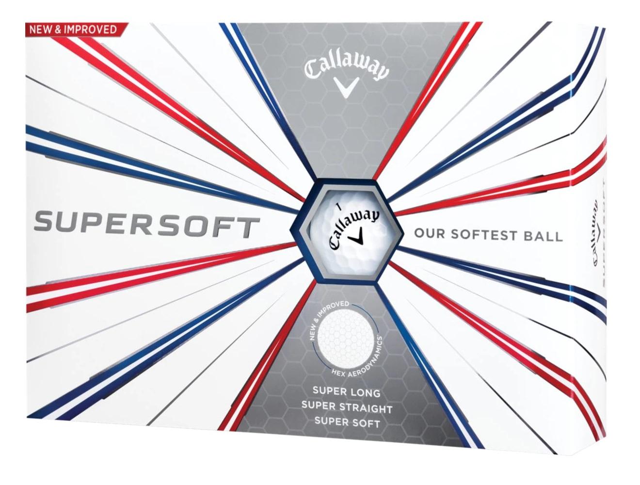 Callaway Supersoft White Golf Balls thumbnail