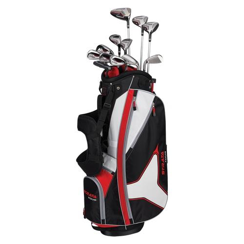 Callaway Strata Tour 18 Piece Mens Complete Golf Set - United MileagePlus  Golf
