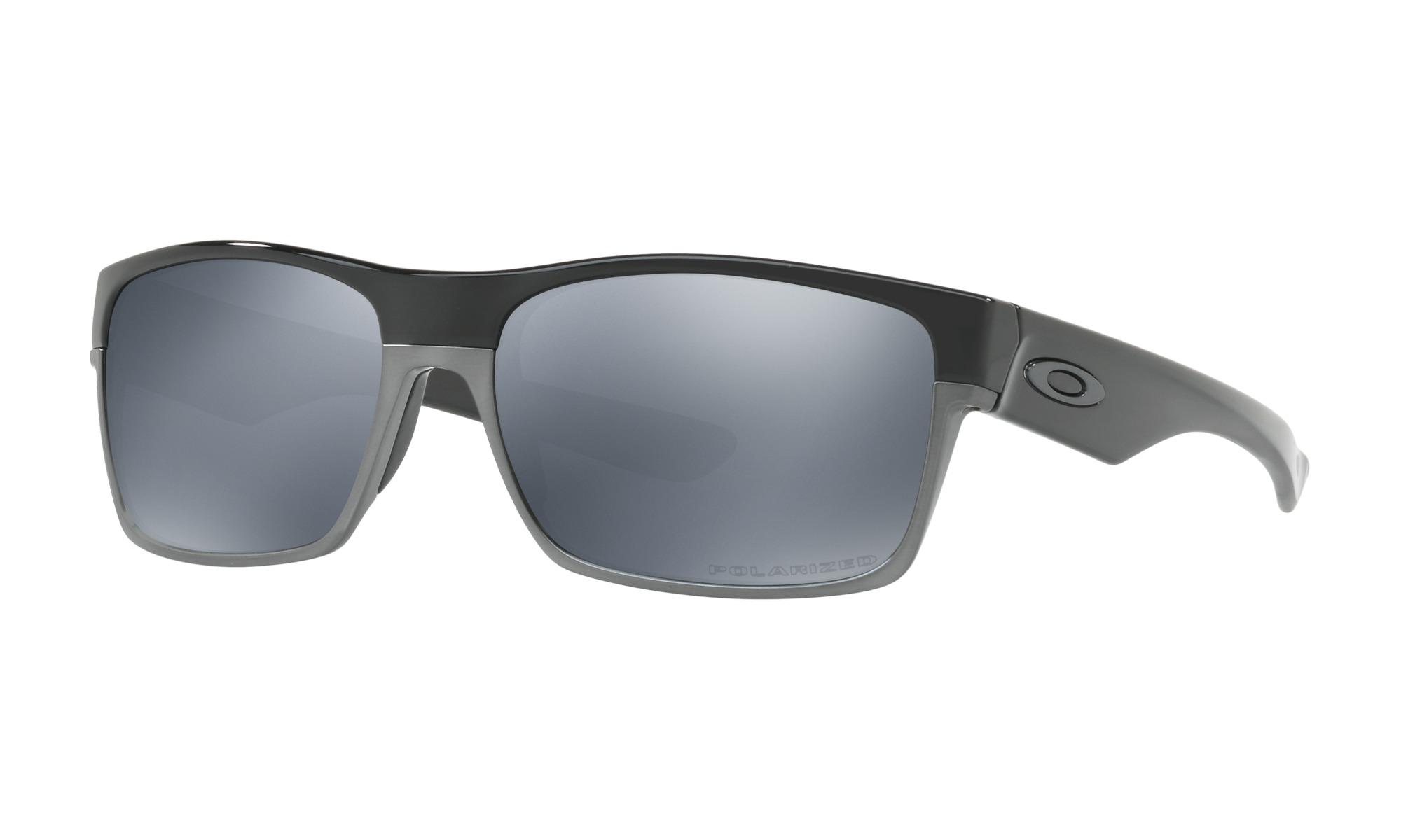 Responsive image. Oakley Twoface Sunglasses Polished Black Black Iridium  Lens-OO9189-02 d5799dfe42
