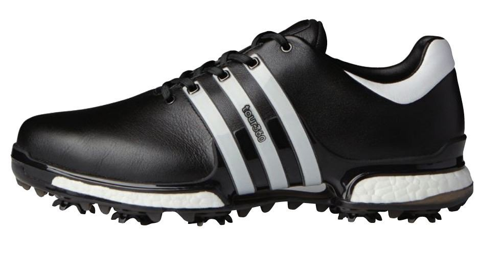 d8cf1fae Adidas Tour 360 2.0 Men's Golf Shoe Black/White/Black | eBay