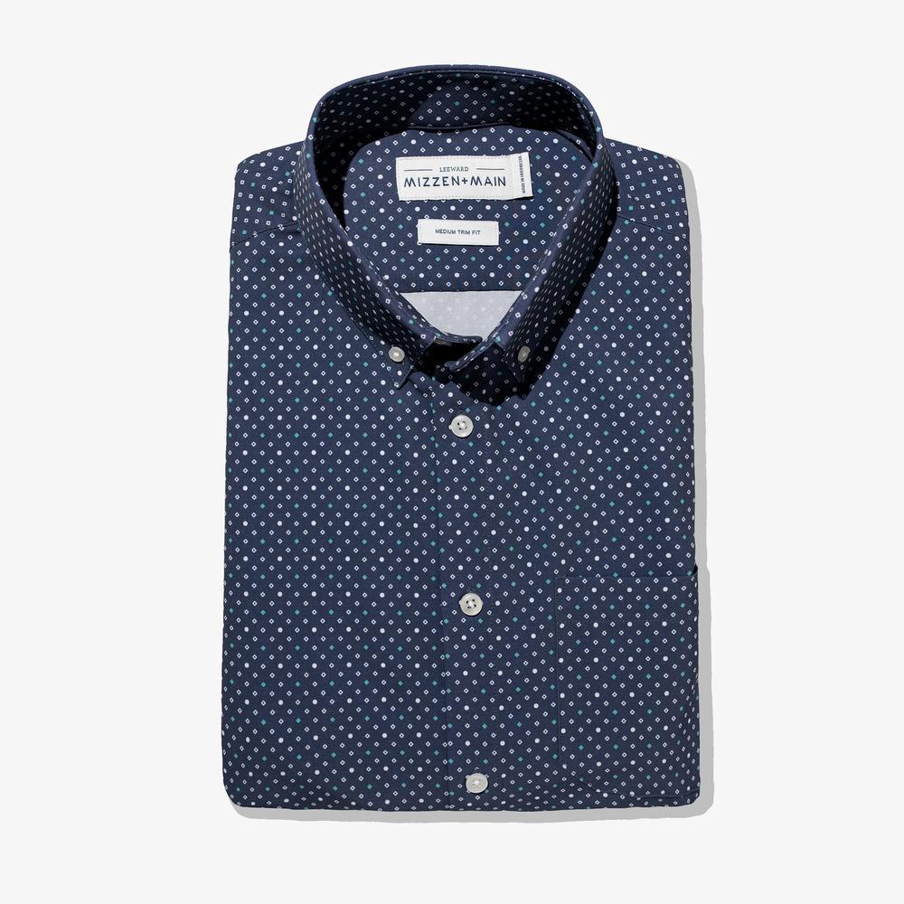 Weston Navy Diamond Fabric