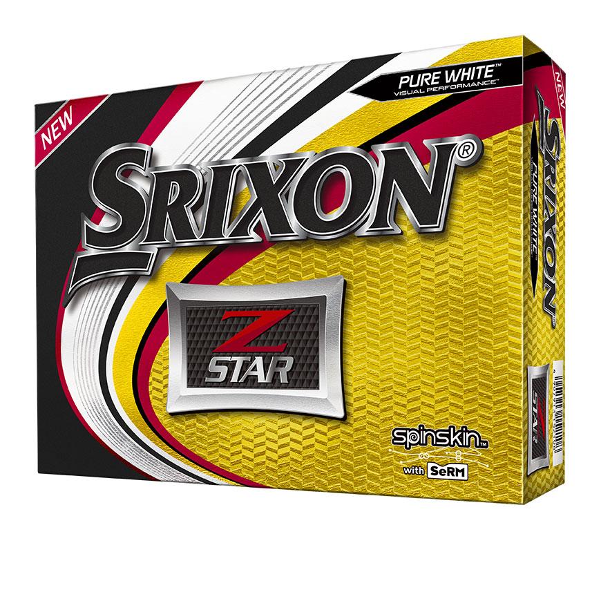Srixon Golf Z Star 6 Pure White Golf Balls thumbnail
