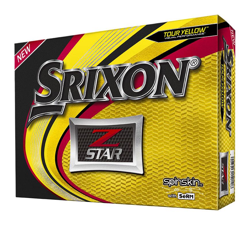 Srixon Golf Z Star 6 Tour Yellow Golf Balls thumbnail