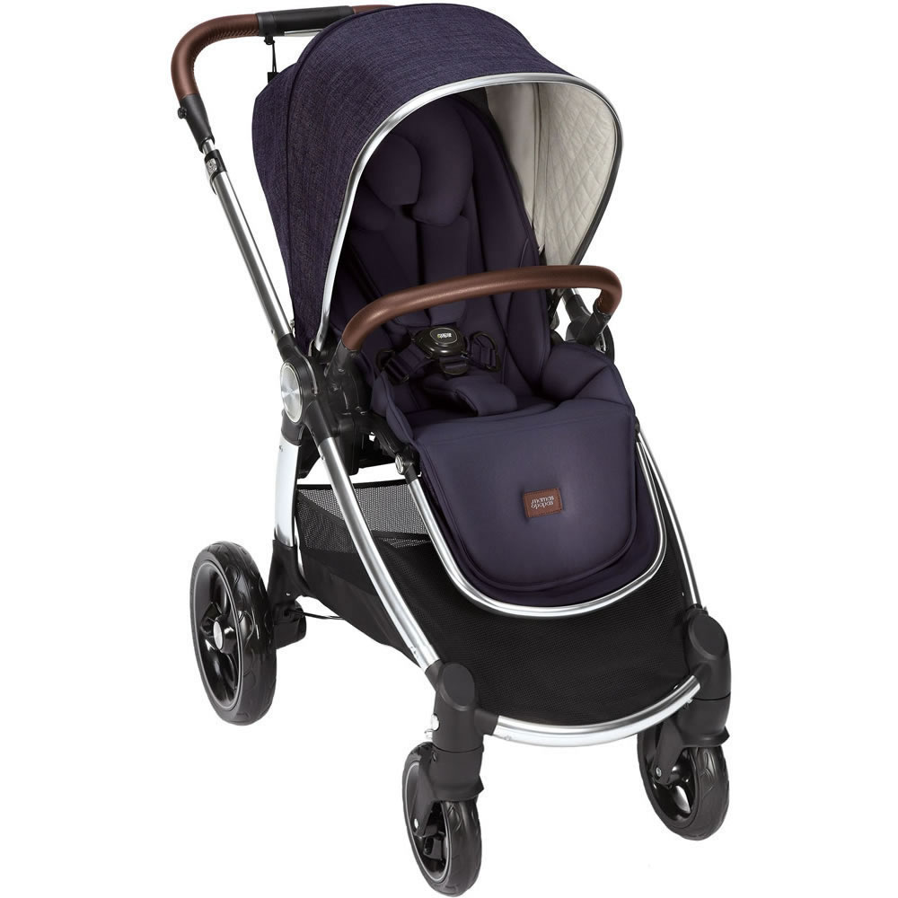 Dark Navy mamas/&papas flip xt2 push chair//stroller Brand new