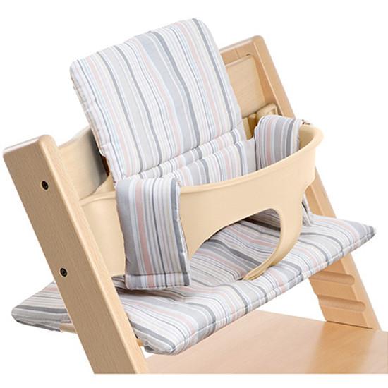 stokke tripp trapp cushion soft stripe ebay. Black Bedroom Furniture Sets. Home Design Ideas