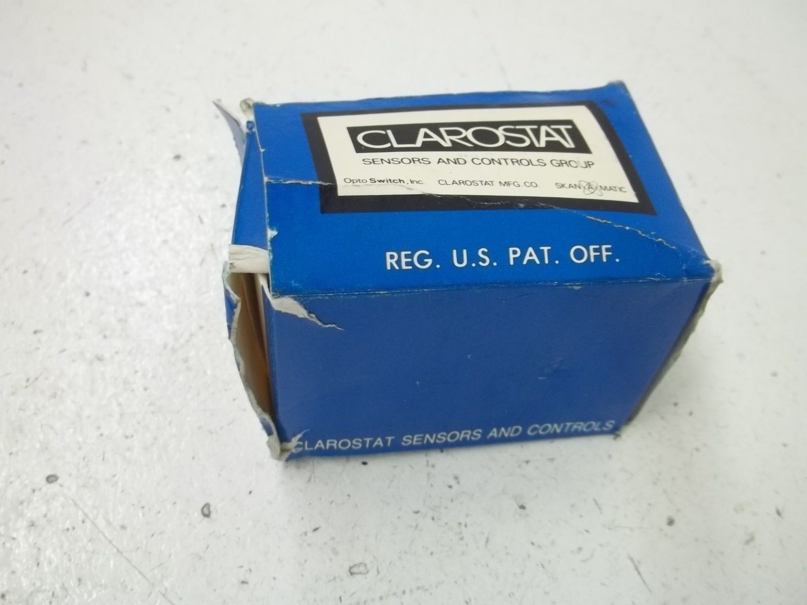 CLAROSTAT POTENTIOMETER 58C120K *NEW IN BOX*