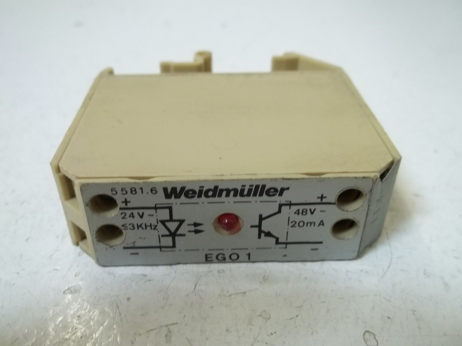 Weidmuller 55816 Ego1 Solid State Relay  Used