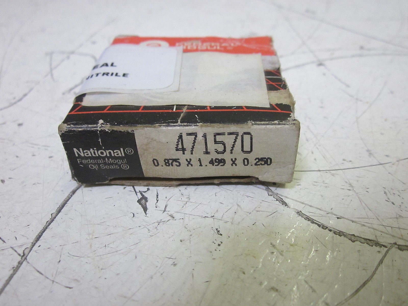 National Seal 471570 Dual Lip with One Spring 0.875 x 1.499 x 0.250